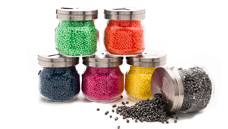 Lime, Orange, Blueberry, Dragon Fruit, Lemon and Porous coloured ARPRO (expanded polypropylene)