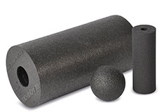 Particles of ARPRO (expanded polypropylene)  in Black, available in various sizes and densities