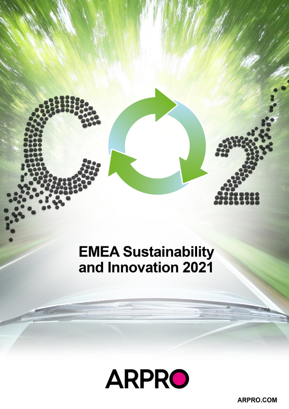 Sustainability & Innovation Report Front Cover